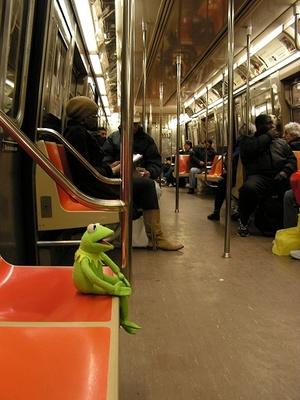 Kermitonthesubway