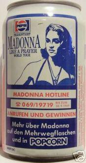 Madonna and Pepsi