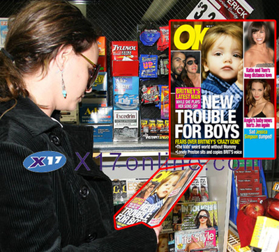 Britney reads up!