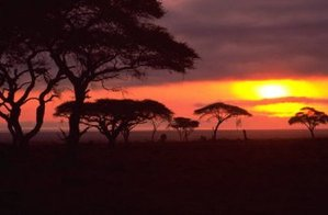African_sunset