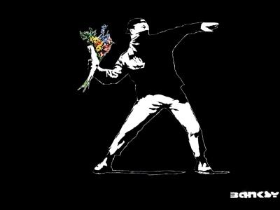 Banksy800_bw